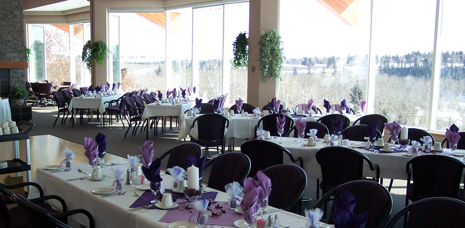 Highlands golf club edmonton ab home for Best private dining rooms edmonton